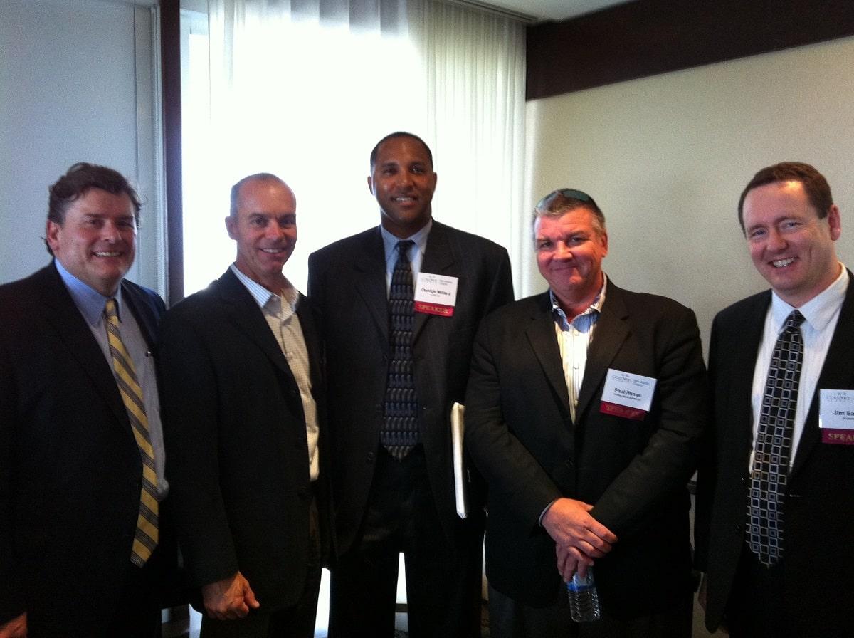 Reed Stvan, Fox RPM Corp; Al Nielsen, AOL Inc; Derrick Millard, GEICO; Paul Himes, Himes Associates, Ltd; Jim Barlowe, Accenture